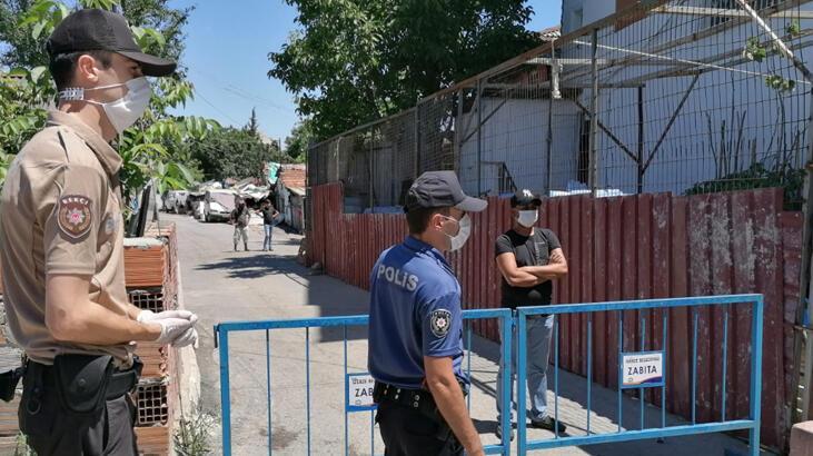 Kocaeli Gebze'de 1 sokak, 7 günlük karantinaya alındı