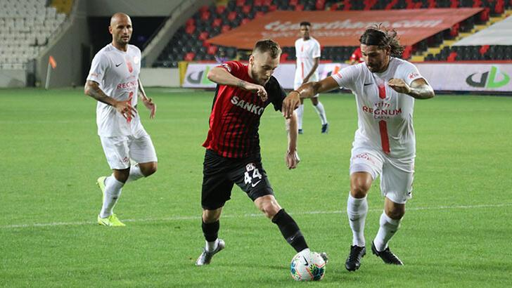 Gaziantep FK - Antalyaspor: 1-1