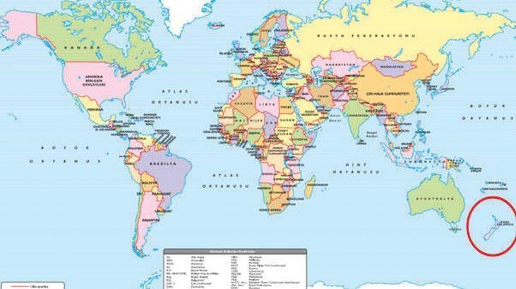 Yeni Zelanda Nerede? Yeni Zelanda Hangi Kıtada, Dünyanın Hangi Bölgesinde Bulunuyor?