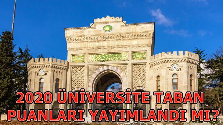 YÖK Atlas Üniversite taban puanları! 2019 Önlisans, Lisans Üniversite taban puanları ve sıralamalar...
