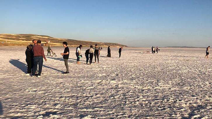 Tuz Gölü'nde ziyaretçi sayısı azaldı