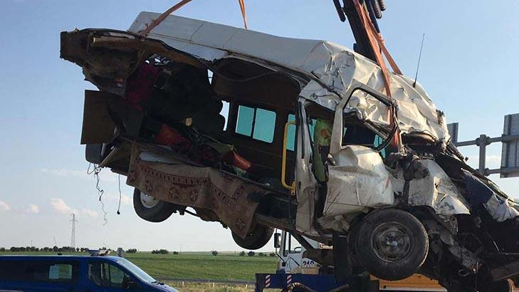 Son dakika... Konya'daki 7 kişinin öldüğü kazada, TIR şoförü tutuklandı!