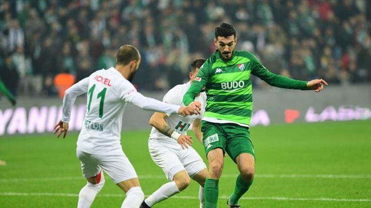 Bursaspor kritik maçta Giresunspor deplasmanında