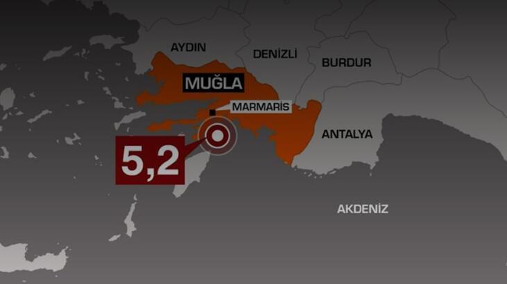 Son dakika haberi... Muğla'daki 5.5'lik depremle ilgili çarpıcı rapor!