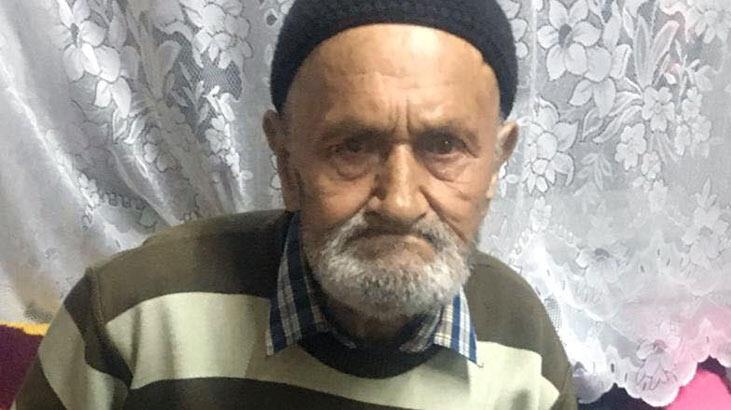 Yaşlı adam, kaybolduktan 11 saat sonra bulundu