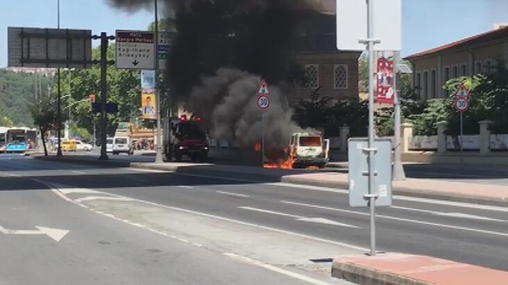 Son dakika... İstanbul'da korkutan anlar! Cadde kapatıldı