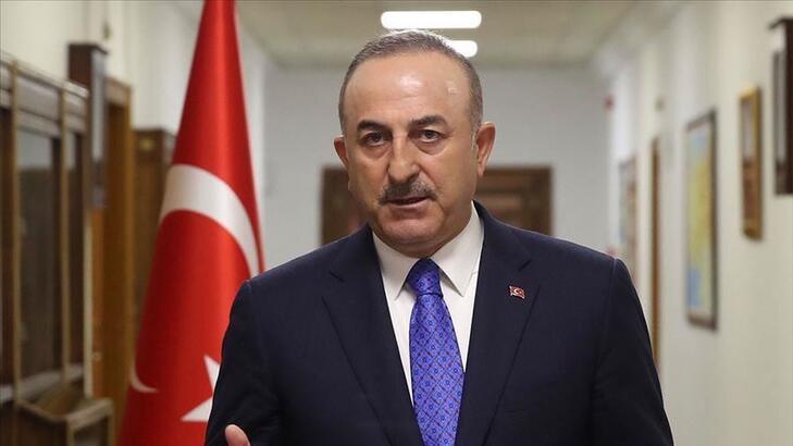 """Çavuşoğlu: """"Suriye'de kalıcı siyasi çözüm, Suriyelilerin çektiği acıya  son vermenin tek yolu"""""""