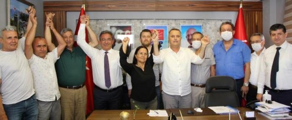 DSP'den istifa edip CHP'ye geçtiler