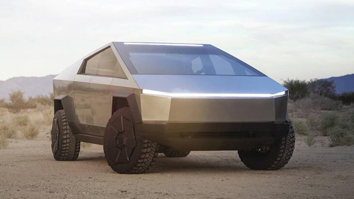 Herkes merak ediyordu? Tesla Cybertruck yüzebilecek mi?