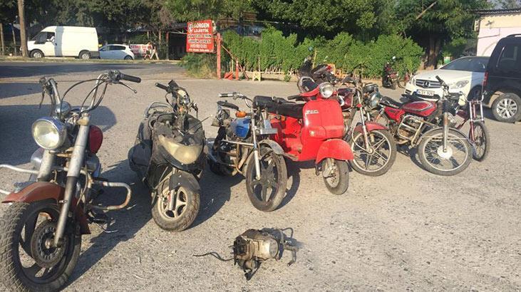 İskenderun'da çalıntı motosiklet operasyonu