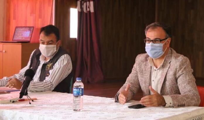 Hacılar'da koronavirüs süreci değerlendirildi