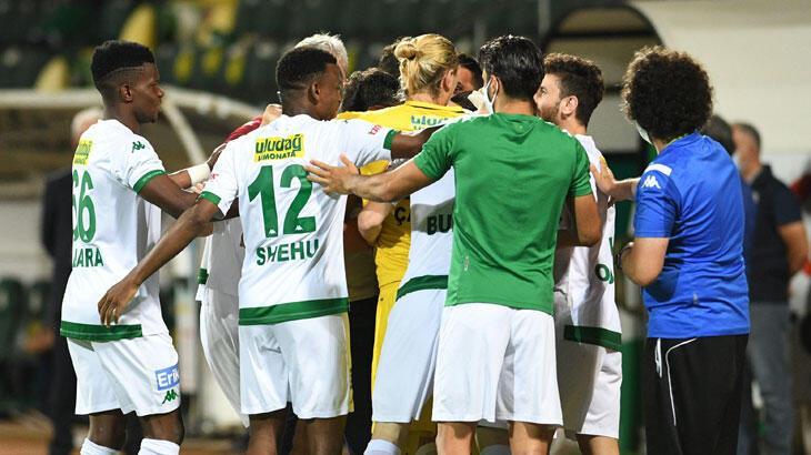 Giresunspor - Bursaspor: 0-1