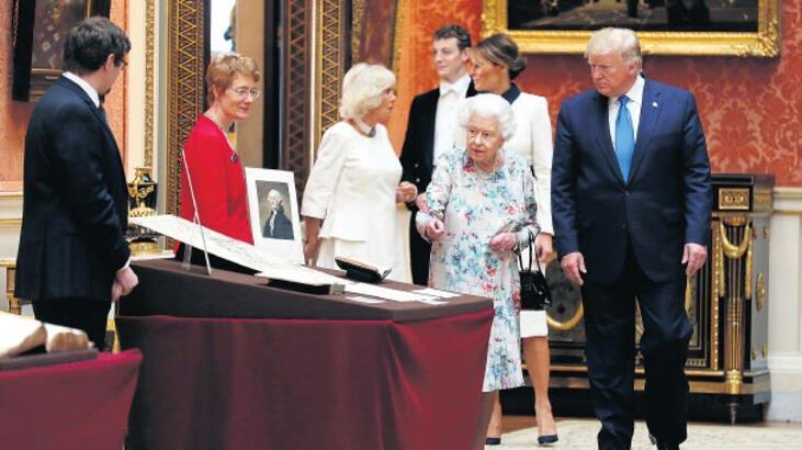 Trump, 2. Elizabeth'in 94. yaş gününü kutladı