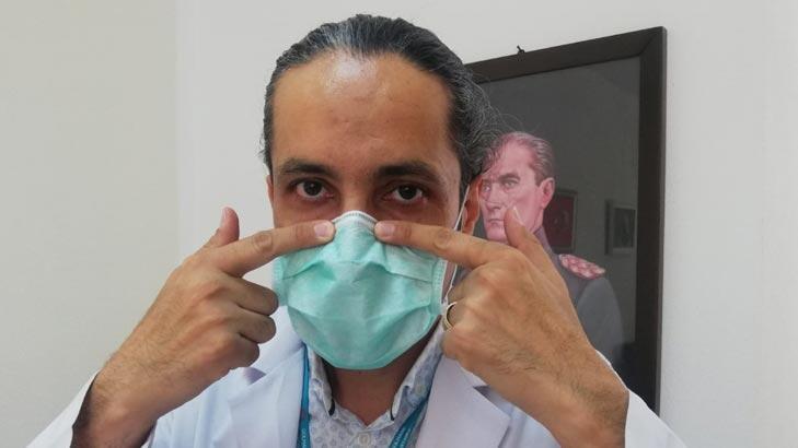 Göz Hastalıkları Uzmanı Doç. Dr. Özge uyardı! 'Telli maske, göz kuruluğunu engeller