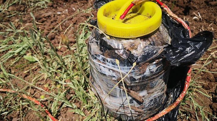 Güvenlik güçleri, geçiş güzergahına tuzaklanan patlayıcı bulup, imha etti