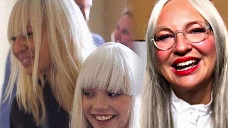 Şarkıcı Sia, babaanne oldu