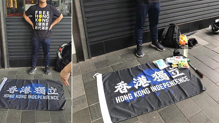 Hong Kong'da Ulusal Güvenlik Yasası'nı ihlal eden ilk kişi gözaltına alındı