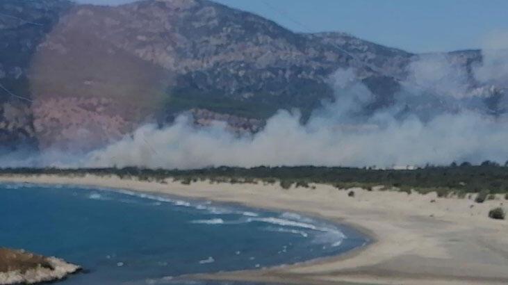 Son dakika haberi: Haberler peş peşe geldi! Tatil beldesinde korkutan yangınlar