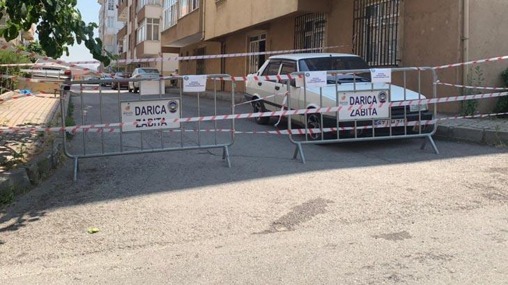 Son dakika... Kocaeli'de bir sokak karantinaya alındı!