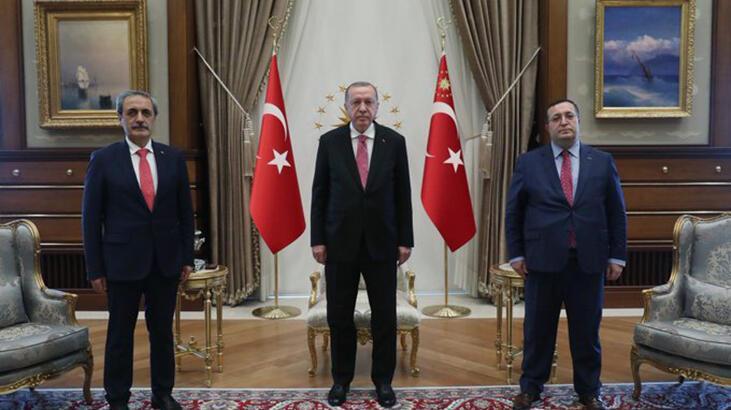 Son dakika... Cumhurbaşkanı Erdoğan, Yargıtay Cumhuriyet Başsavcısı Şahin'i kabul etti