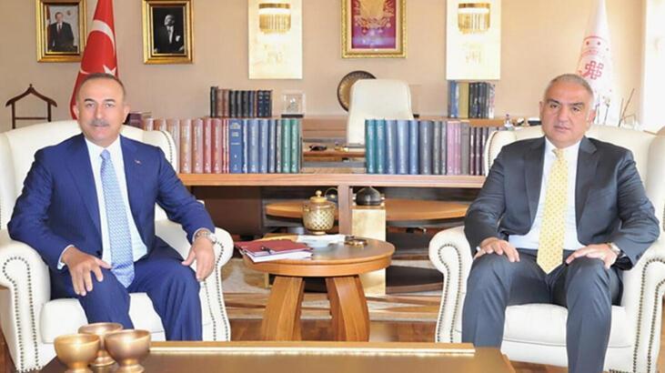 Mevlüt Çavuşoğlu ve Mehmet Nuri Ersoy Almanya'ya gidiyor