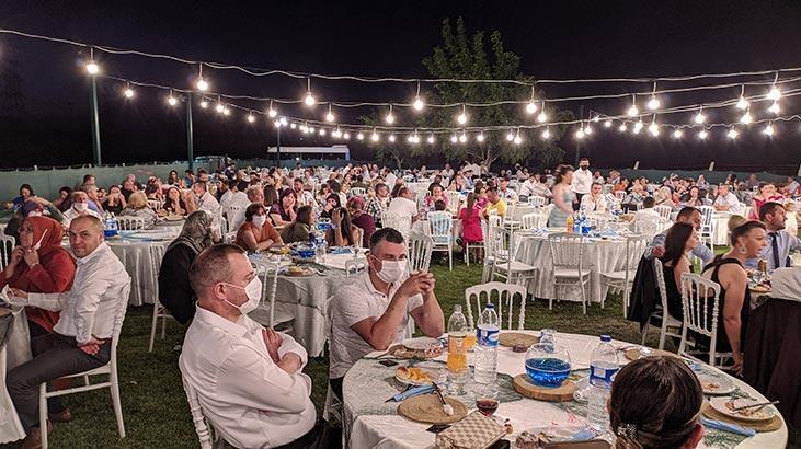Edirne'de düğünler corona virüs tedbirleriyle yapılmaya başladı