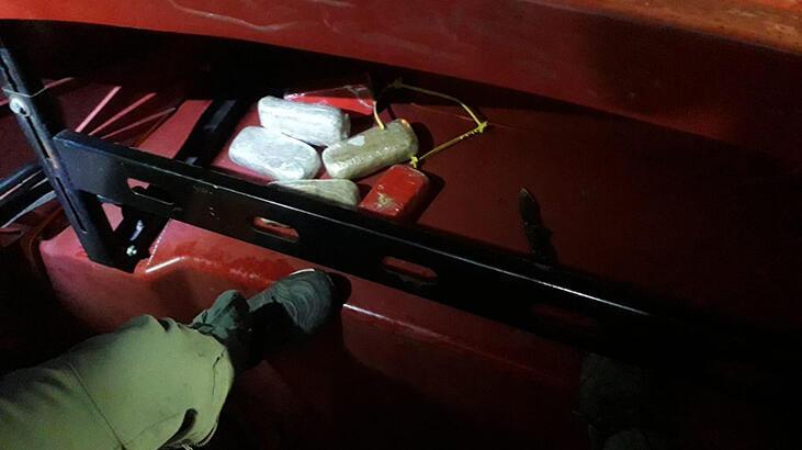 TIR'daki 3 kilo 178 gram eroin ele geçirildi