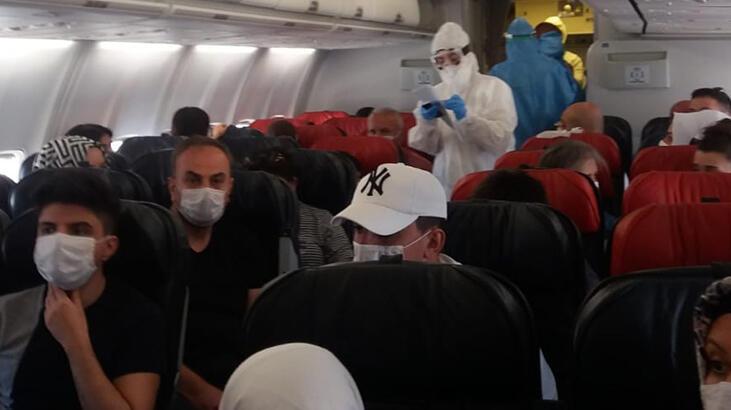 Son dakika... Diyarbakır-Ankara uçağında koronavirüs paniği