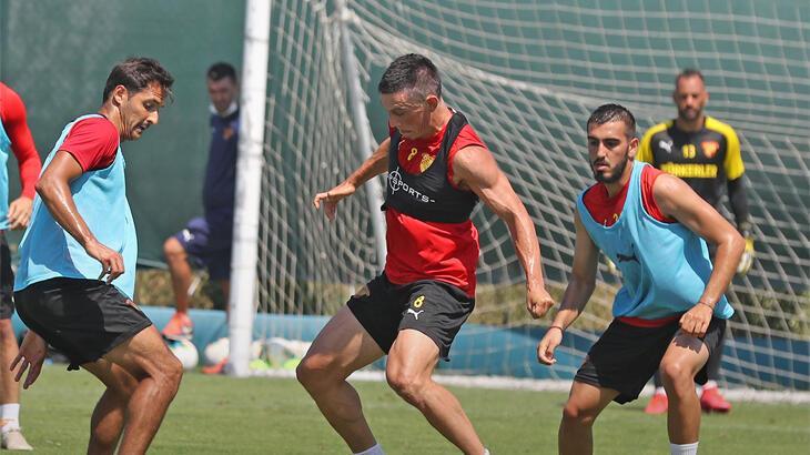 Göztepe, Fenerbahçe maçının hazırlıklarını sürdürdü