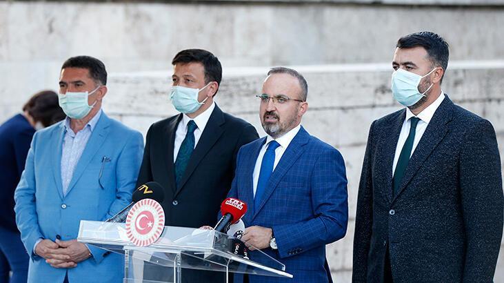 AK Parti'li Turan'dan Meclis önünde bekleyen baro başkanlarına ilişkin açıklama