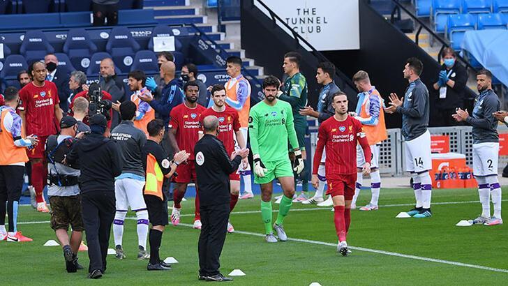 Manchester City, şampiyon Liverpool'u alkışladı!