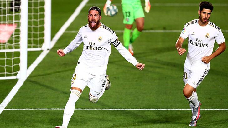 Real Madrid şampiyonluğa yürüyor! Üst üste 6. galibiyet...