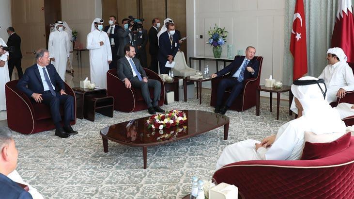 Bakan Albayrak'tan Katar ziyareti paylaşımı! 'Verimli görüşmeler gerçekleştirdik'