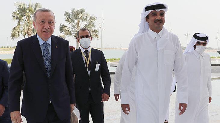 Katar Emiri Al Sani'den Türkiye ile yapıcı iş birliği vurgusu