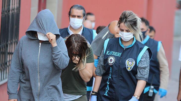 Kayseri polisinden fuhuş operasyonu: 8 gözaltı