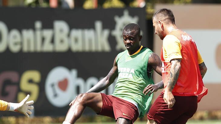Galatasaray'da Marcao takımla çalıştı
