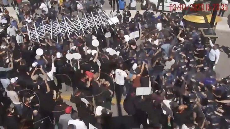 Ankara Emniyeti'nden polise saldırdığı ileri sürülen avukatlar hakkında açıklama