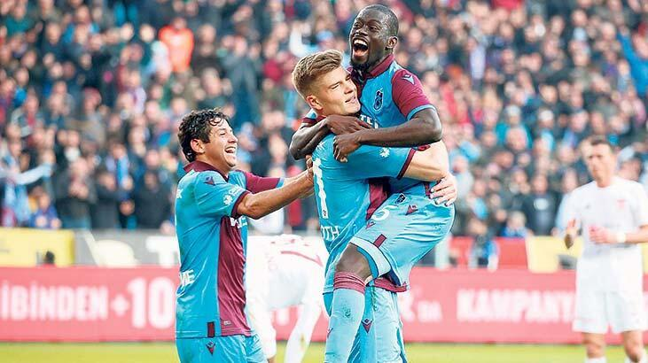Trabzonspor ilk yarı borsa şampiyonu