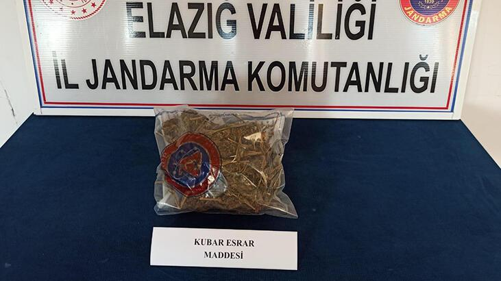 Elazığ'da uyuşturucu operasyonunda 3 tutuklama