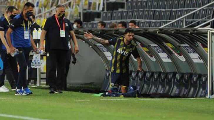 Fenerbahçe'de Ozan Tufan'dan değişlik tepkisi!