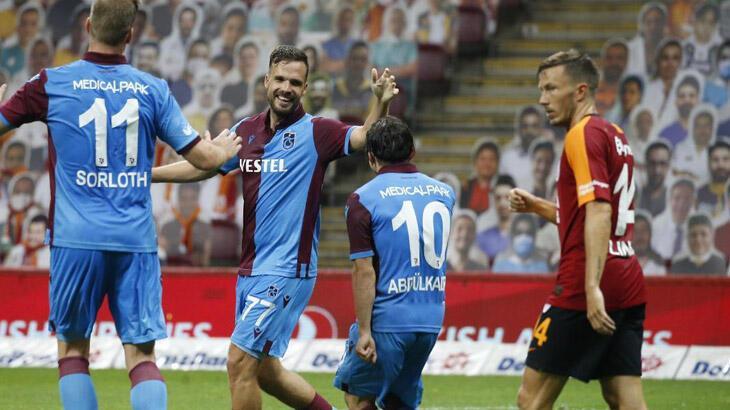 Son dakika | Galatasaray-Trabzonspor: 1-3
