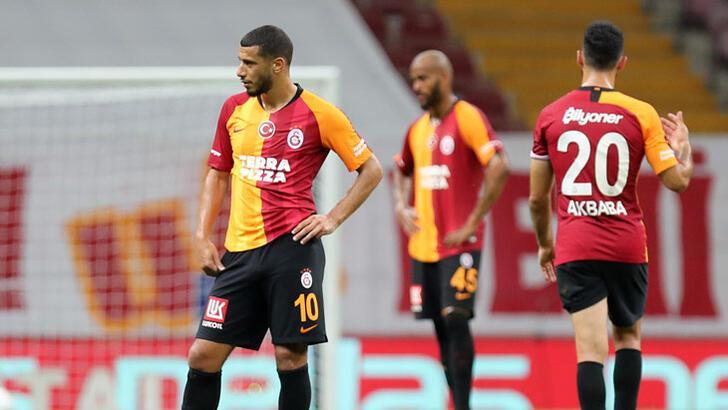 Galatasaray'ın galibiyet özlemi 6 maça çıktı
