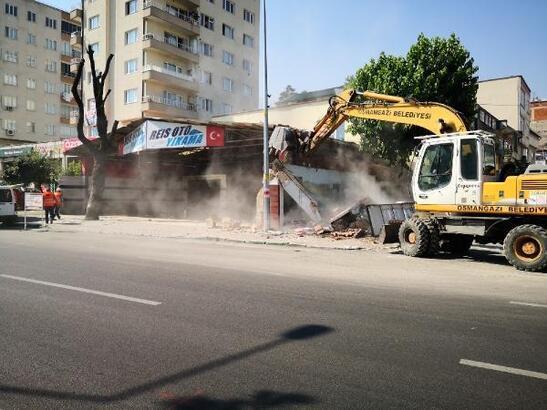 Ankara Caddesi'nden Gökdere'ye geçiş ek şerit ile rahatlayacak