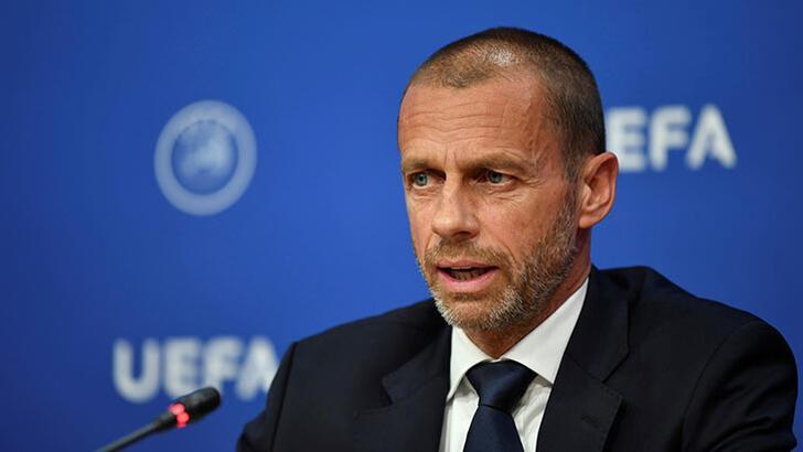 UEFA Başkanı Ceferin ilk kez açıkladı! Şampiyonlar Ligi maçlarında...