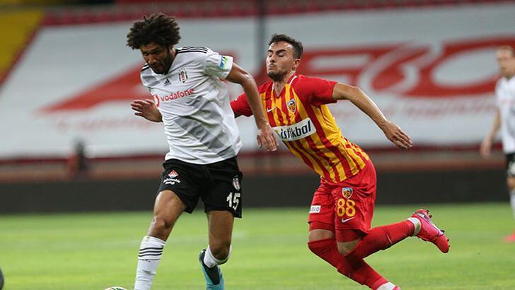 Kayserispor - Beşiktaş: 3-1