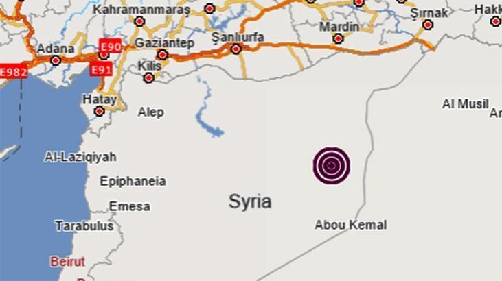 Son dakika haberi: Suriye'de korkutan deprem