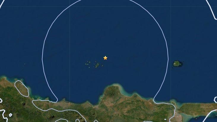 Son dakika... Endonezya'da 6,1 büyüklüğünde deprem