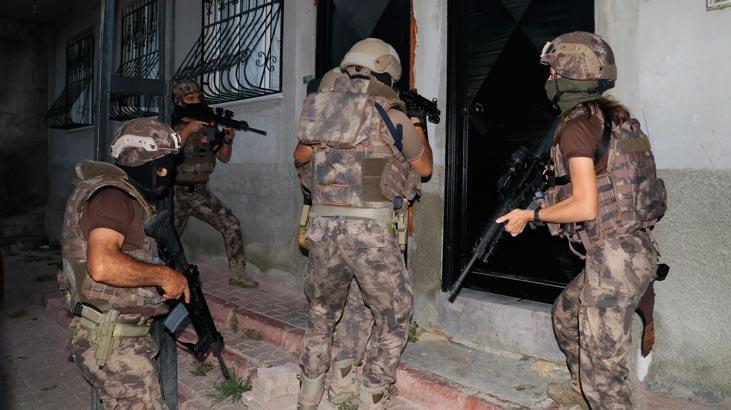 Son dakika... Adana'da merkezli 4 ilde şafak vakti uyuşturucu operasyonu
