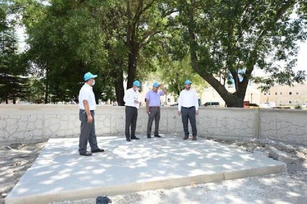 Başkan Bekler, hastane bölgesindeki çalışmaları inceledi