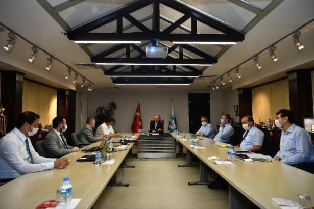 Başkan Büyükkılıç'tan ulaşım toplantısı